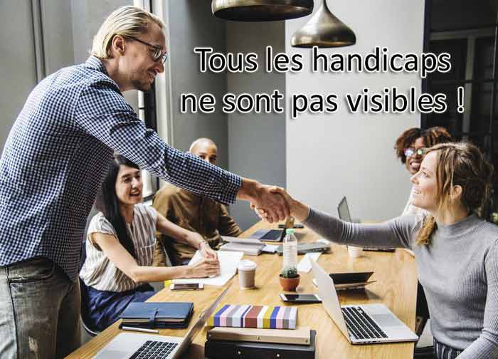 Le handicap invisible