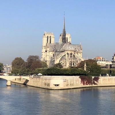 La cathedrale Notre Dame de Paris avant l'incendie